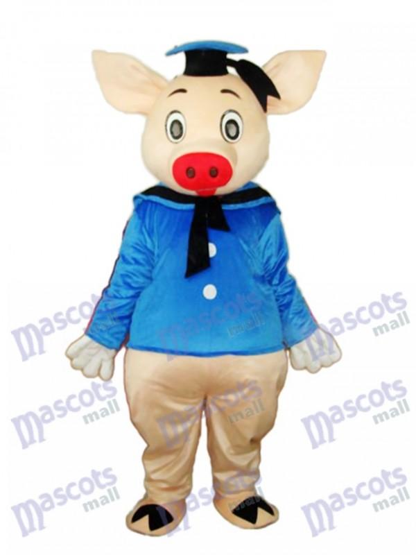 Dr.Pig Mascot Adult Costume