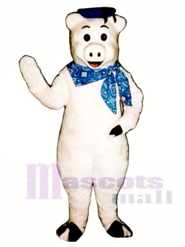 Stick Pig Mascot Costume