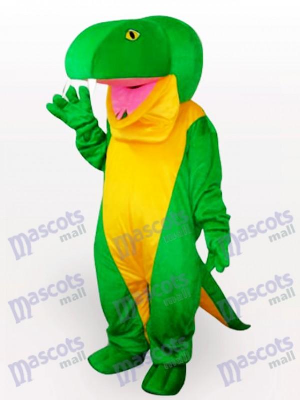 Green Snake Animal Adult Mascot Costume
