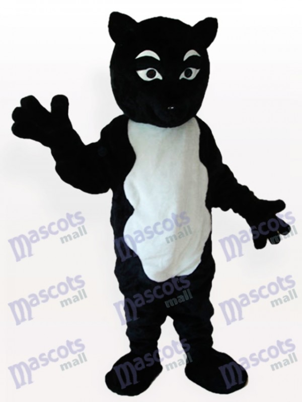 Black Skunk Adult Mascot Costume