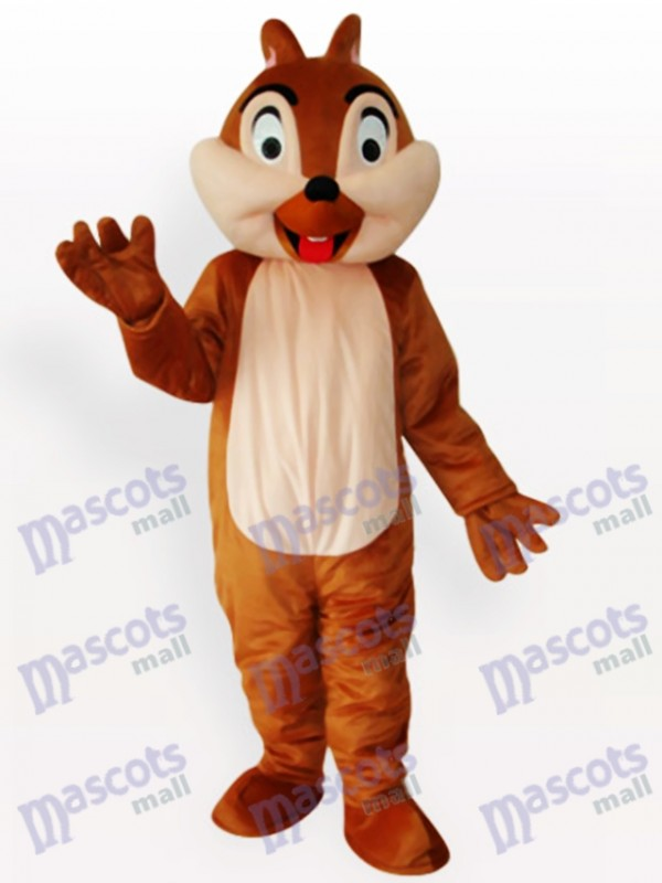 Squirrel Boy Animal Adult Mascot Funny Costume