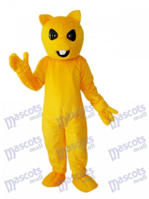 Yellow Squirrel Mascot Adult Costume