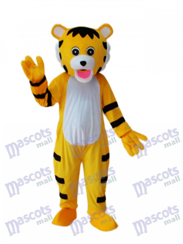 Little Tiger Mascot Adult Costume