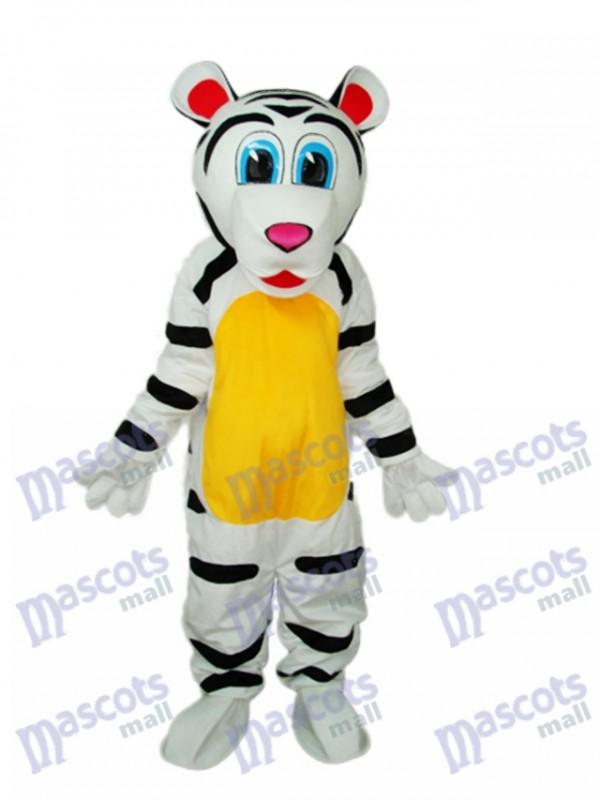 Colorful Tiger Mascot Adult Costume