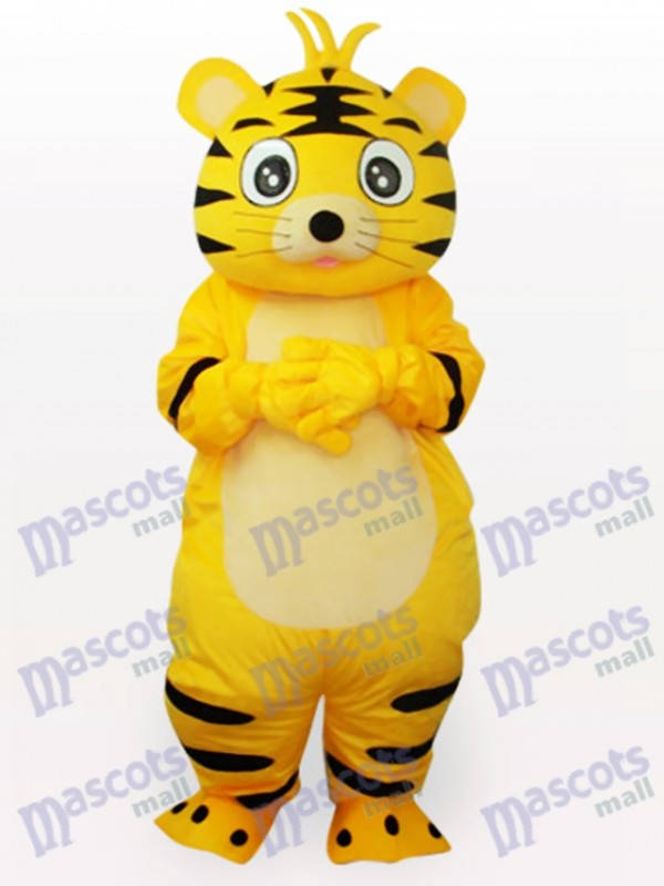 Smart Tiger Animal Adult Mascot Funny Costume