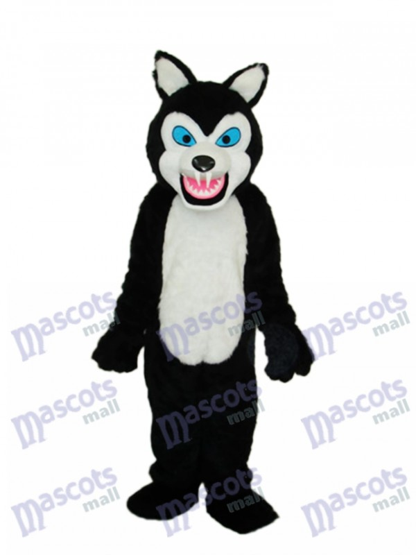 Thin Teeth Wolf Macot Costume