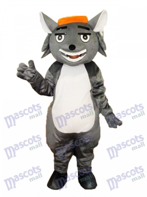 Wolf Fang Mascot Adult Costume